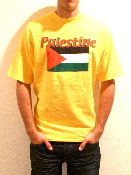Palestine T-Shirt - Yellow