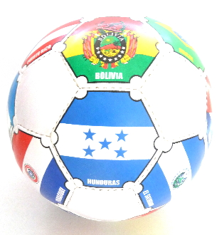 South America Soccerball