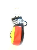 Germany Boxing Glove Keychain
