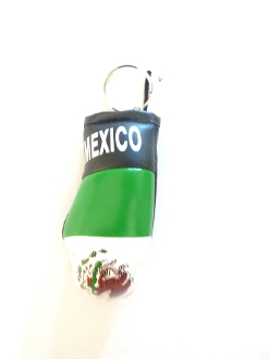 Mexico Boxing Glove Keychain