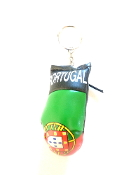 Portugal Boxing Glove Keychain