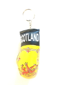 Scotland Lion Boxing Glove Keychain