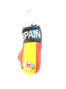 Spain Boxing Glove Keychain