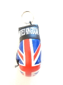 United Kingdom Boxing Glove Keychain