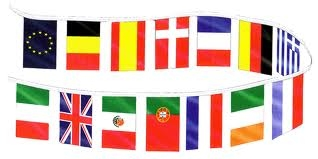 Caribbean String Flag 20 Flags