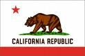 California Nylon 5x8 Feet Flag